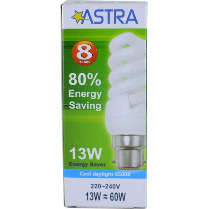 ASTRA SAVING LAMP B22/13W=60WC.D.L.663LM