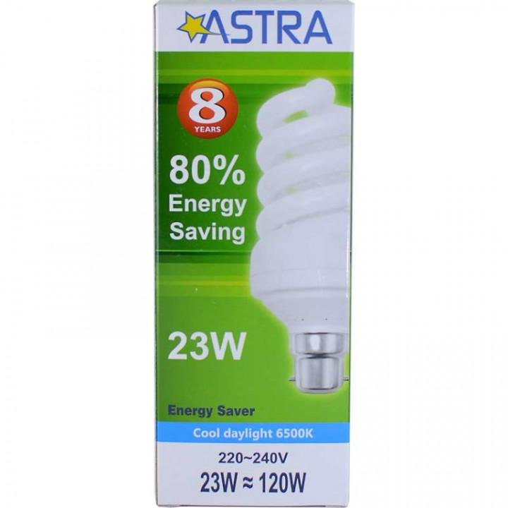 ASTRA SAVING LAMP B22/23W=120W-1370LM C.D.L.