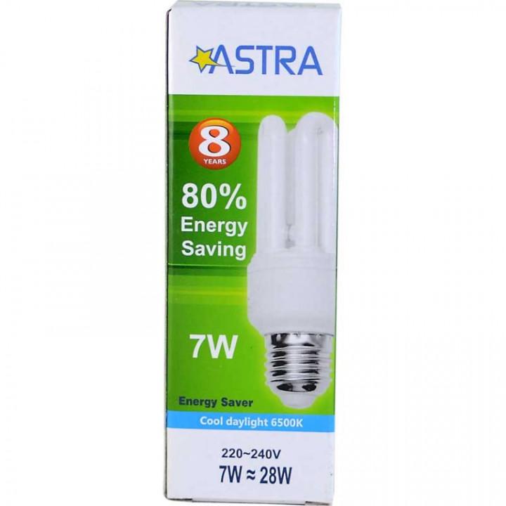 ASTRA SAVING LAMP E27/7W=28W C.D.L 290LM