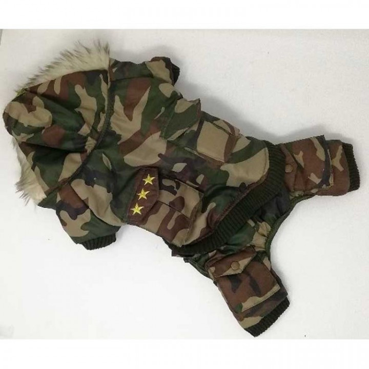 Dog Dress - Military