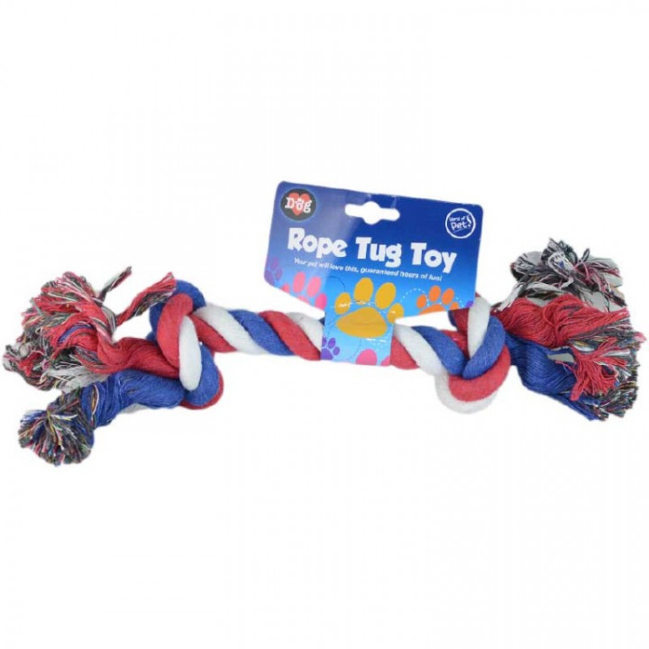 TOY FOR PET - MULTICOLOR ROPE TUG