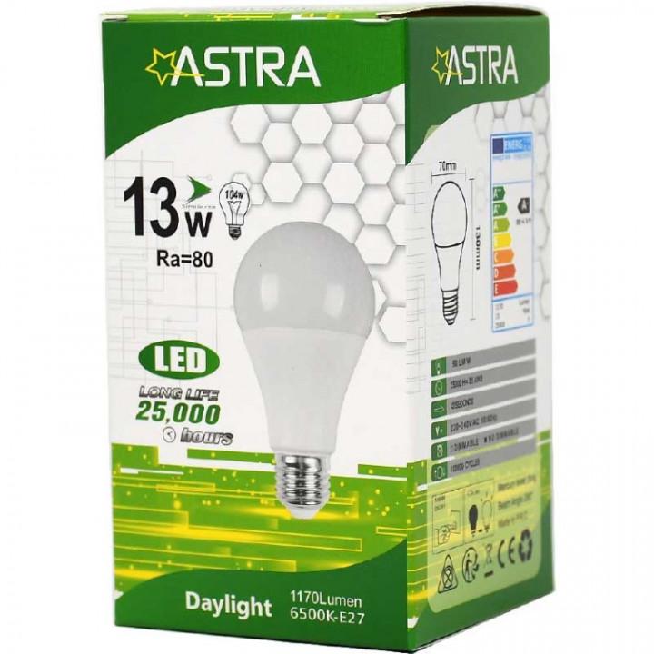 LAMP LED ASTRA E27/13W=104w 1170 LUMEN