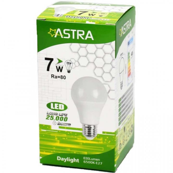 LAMP LED ASTRA E27/7W=56w 630 LUMEN