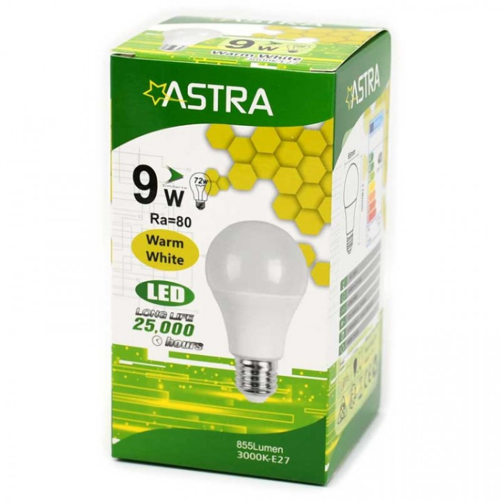 LAMP LED Astra E27/9w=56w 5290728013375