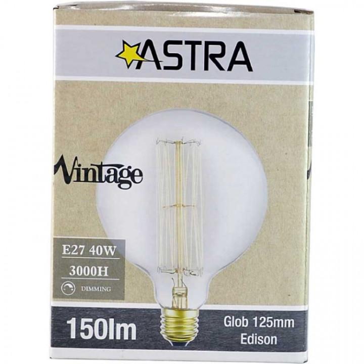 LAMP VINTAGE DIMMABLE G125 24ak E27/40W