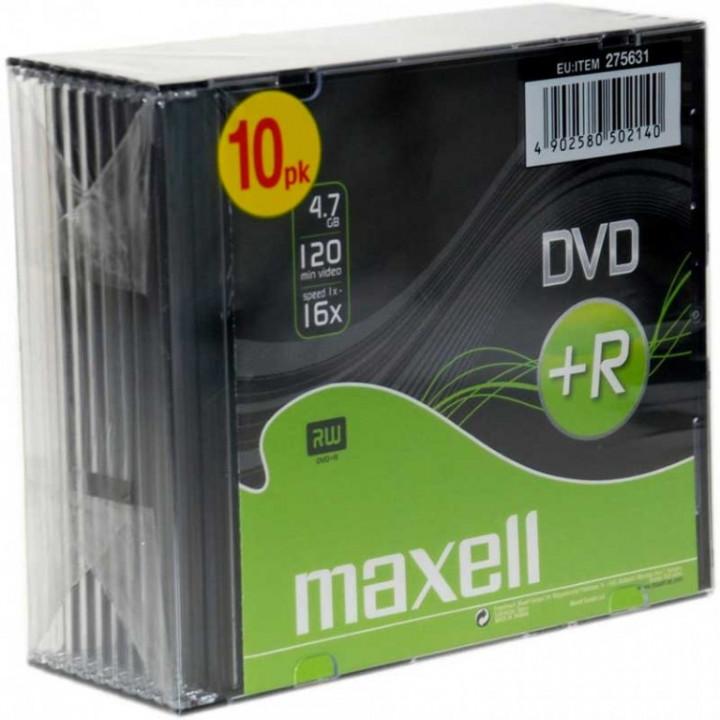 MAXELL DVD+R  4.7GB, 120min (1pc)