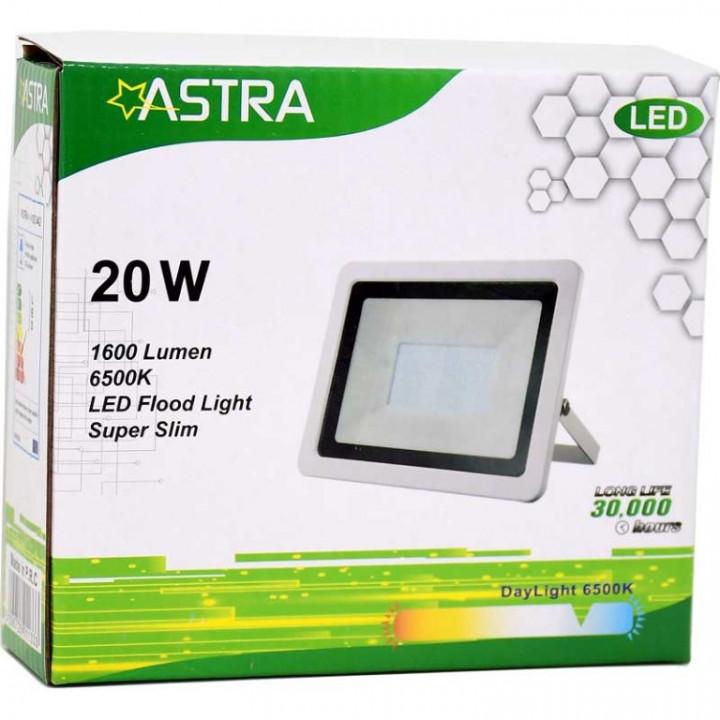 FLOOD LIGHT LED 20W IP65 - SLIM - ASTRA
