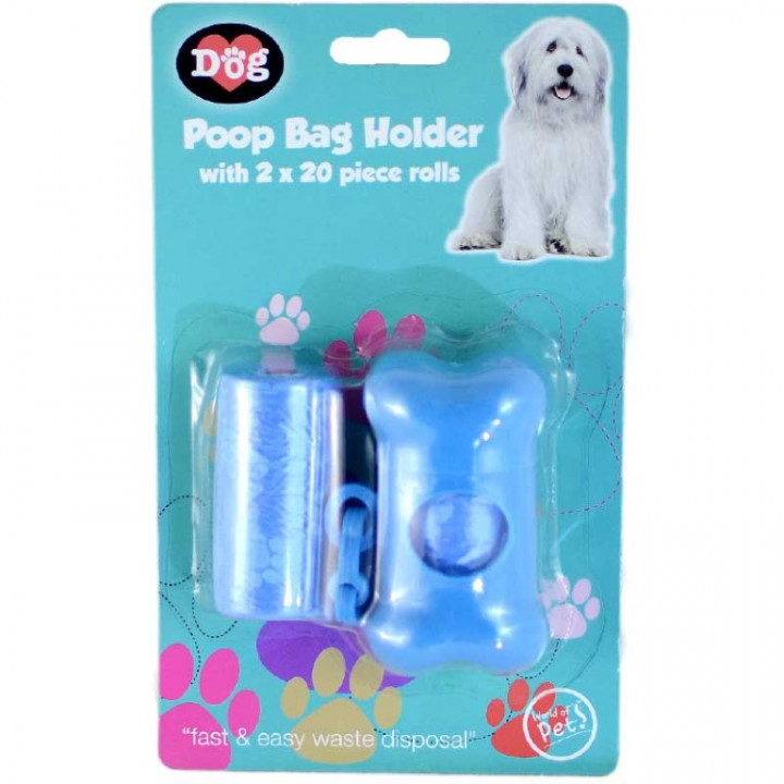 POOP BAG HOLDER 2X20PCS