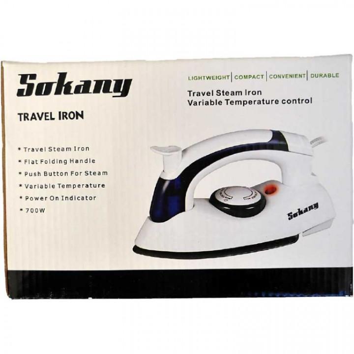 TRAVEL STEAM IRON - SOKANY 6047