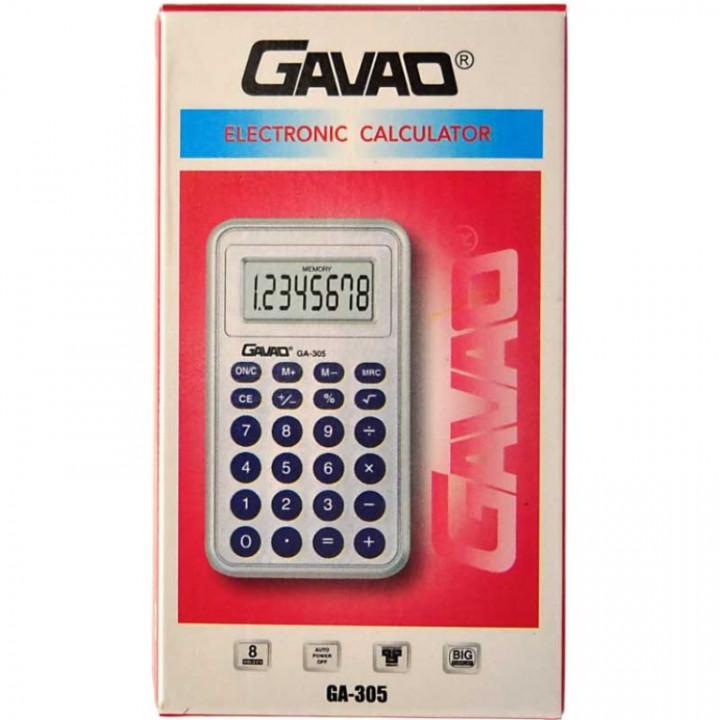 CALCULATOR POCKET GAVAO 8207-10