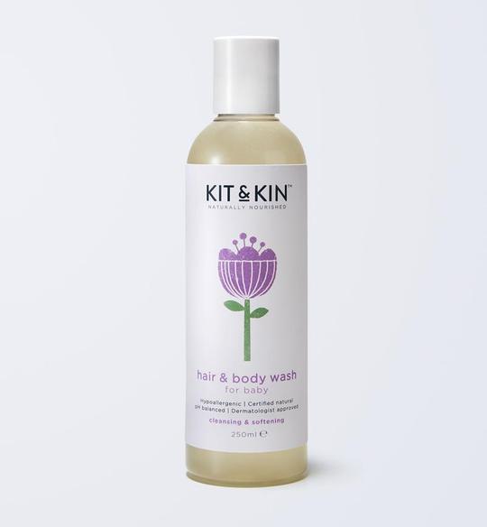 Baby Hair & Body Wash Cleansing & Softening - 250ml