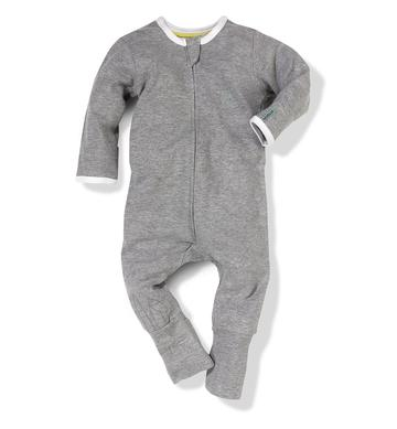 Grey All-In-One - Size: 0-3 months