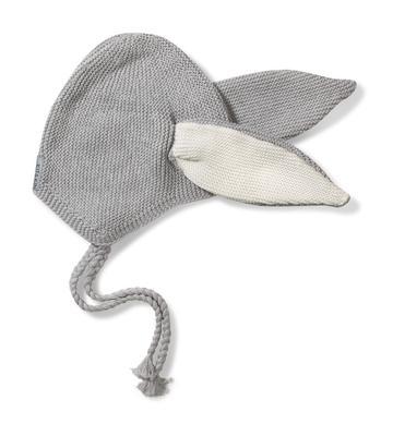 Grey Hat - Size: 6-12 months