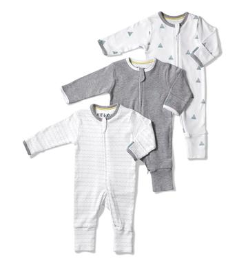 Wave all-in-ones bundle - Size: 3-6 months
