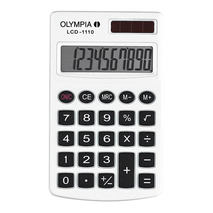 Olympia Calculator LCD 1110  - WHITE