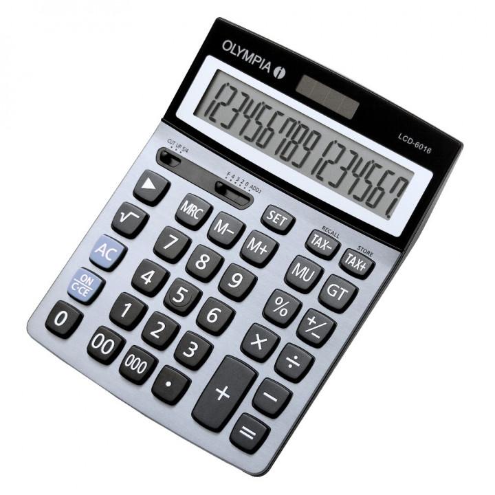 Olympia Calculator LCD6016