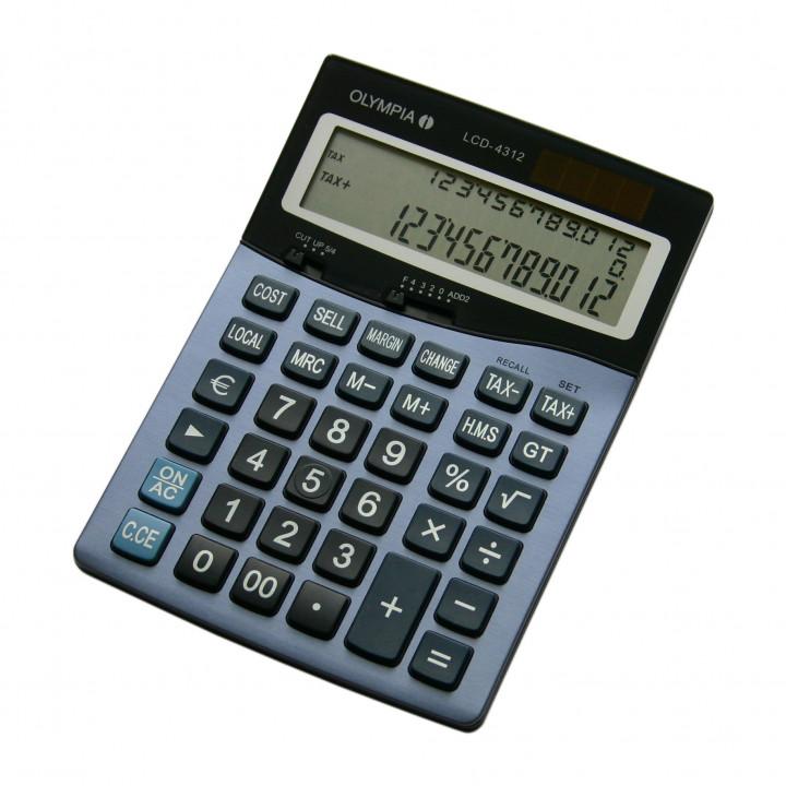 Olympia Calculator LCD4312