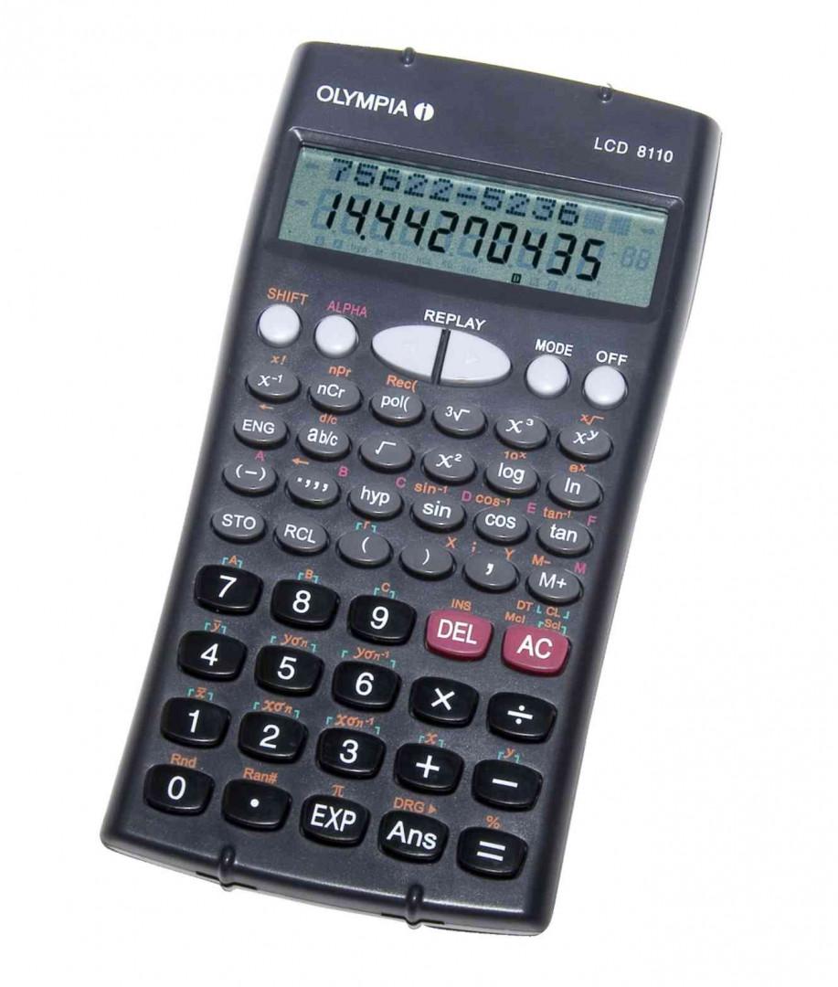 Olympia Calculator LCD8110
