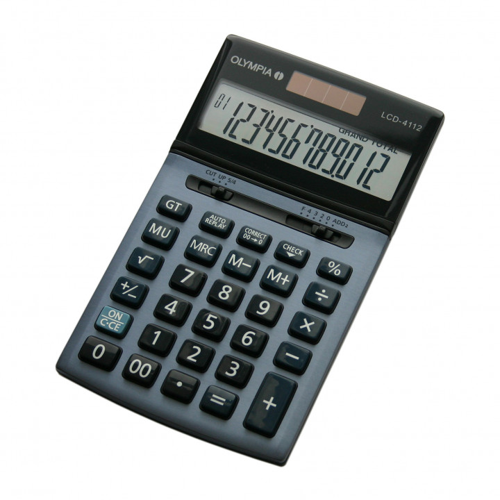 Olympia Calculator LCD4112