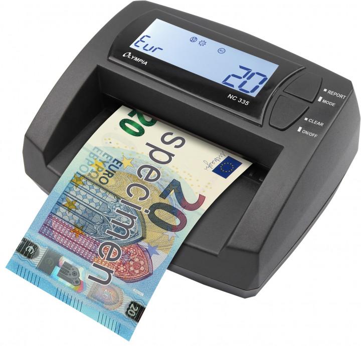 Olympia NC 335 (Bank-note Counter/Validator)