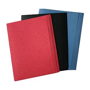 MIX SET A4 BINDING COVERS - BLACK