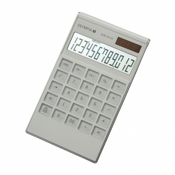 Olympia Calculator LCD31121 - WHITE