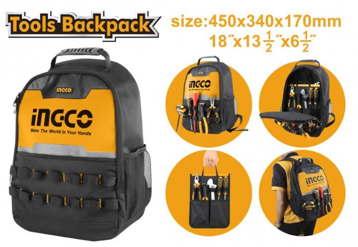 INGCO TOOL BACKPACK - 45x34x17 cm