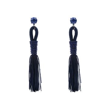 Zuzu tassel earrings blue