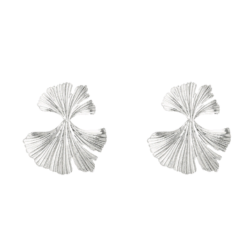 Genesis silver earrings