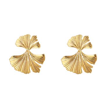 Genesis gold earrings
