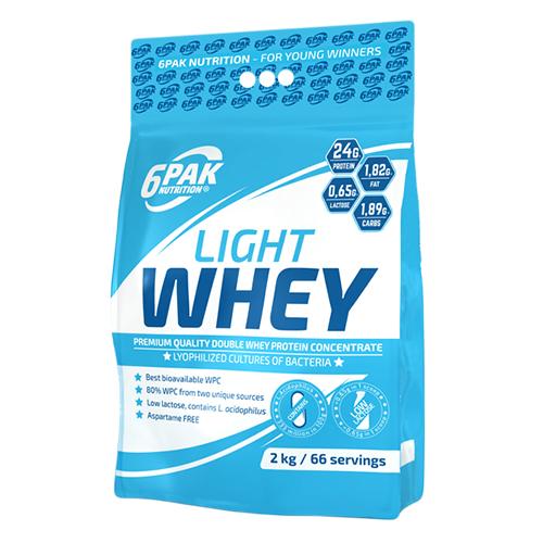 6PAK Nutrition Light Whey 1.8kg - Natural