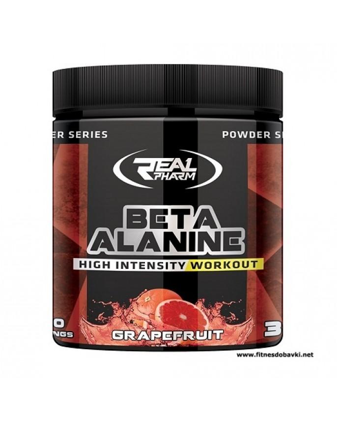 Real Pharm Beta Alanine - grapefruit, Powder