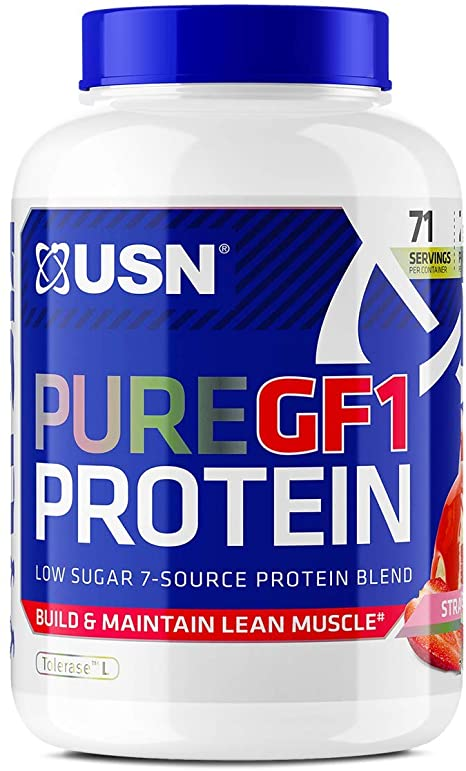 USN Pure Protein GF-1 2kg - Strawberry