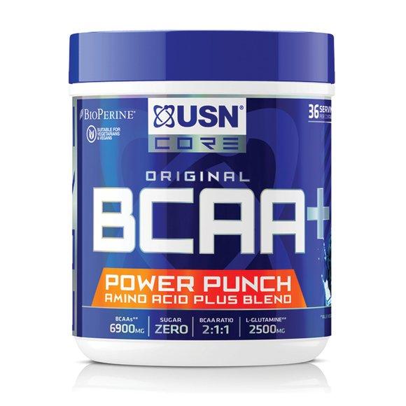 USN BCAA POWER PUNCH 400G - Blue Rasberry