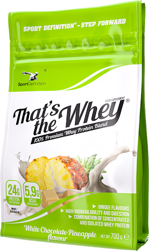 Sport Definition That's the Whey Isolate - White Chocolate Pineapple