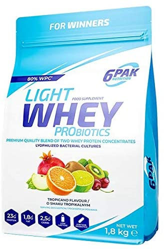 6PAK Nutrition Light Whey 1.8kg - Tropicano