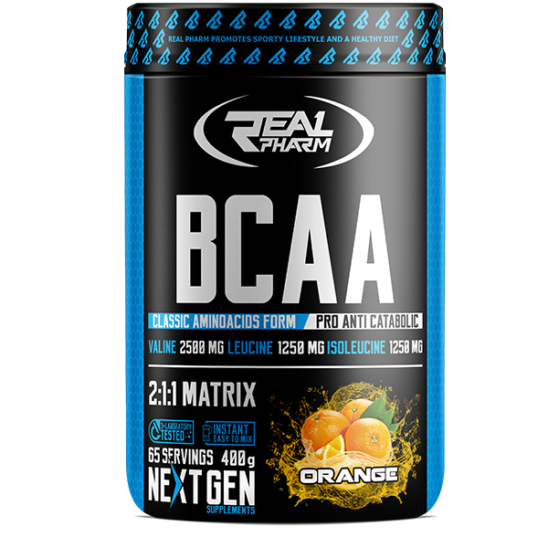 Real Pharm BCAA - Orange