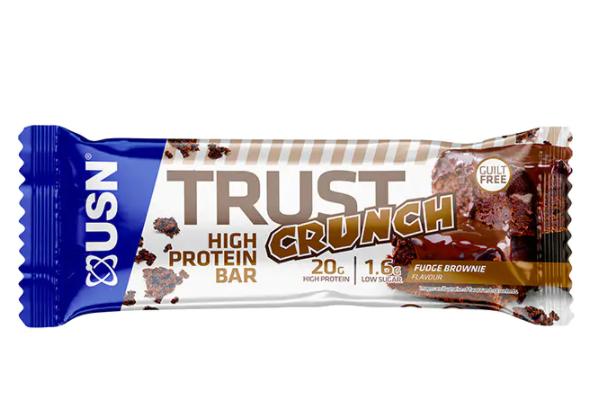 USN TRUST CRUNCH BAR - Chocolate Brownie
