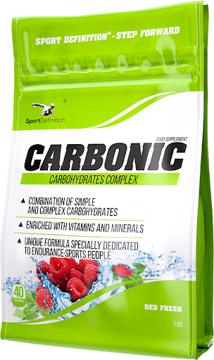Sport Definition Carbonic 1000g - Mint + Raspberry