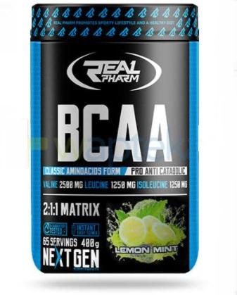 Real Pharm BCAA - Lemon-mint