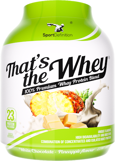 Sport Definition That's The Whey - White Chocolate Pineapple