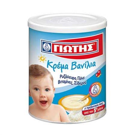 GIOTIS vanilla cream 300g