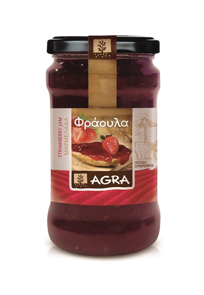 AGRA Marmelade Strawberry 370g
