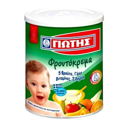 GIOTIS Cream 5 Fruits for Babies 300g