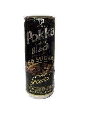 Pokka black coffee 240ml