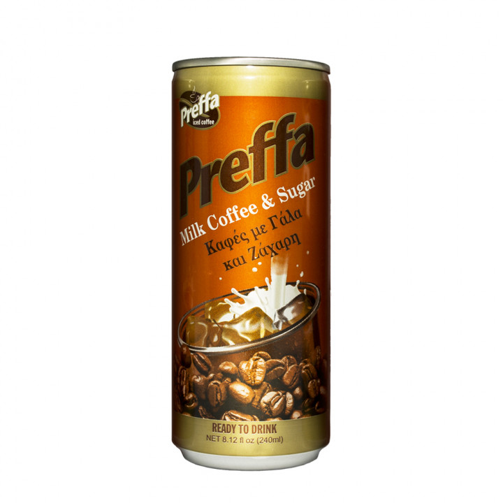 Preffa milk & sugar coffee 240ml