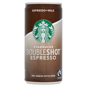 Starbucks double espresso 200ml