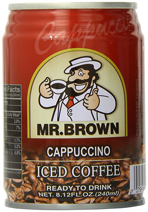 Mr.Brown cappuccino 240ml