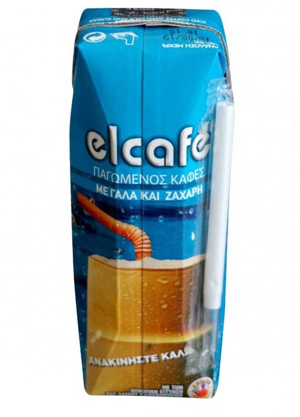 Elcafe with milk & sugar 250ml