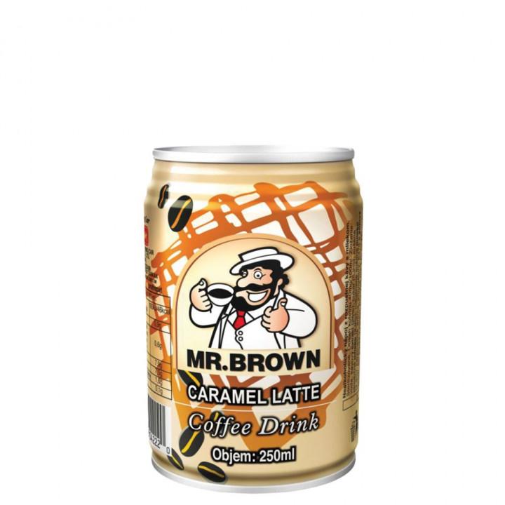 Mr.Brown caramel latte 240ml